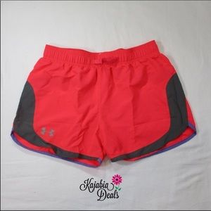 UNDER ARMOUR Girls Loose Shorts Size Youth Large